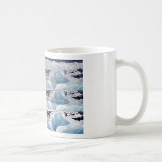 MELTING GLACIERS snow background TEXT TEMPLATES Coffee Mug