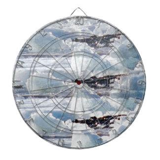 MELTING GLACIERS snow background TEXT TEMPLATES Dartboard
