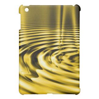Melting Gold Ripples iPad Case
