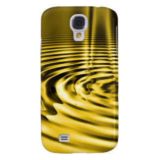 Melting Gold Ripples iPhone3 Case