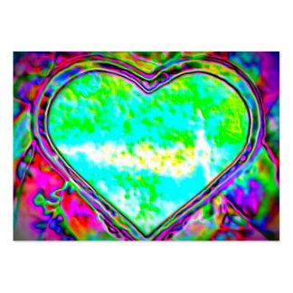 Melting Heart ATC Large Business Card
