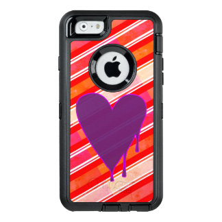 Melting Heart Purple OtterBox Defender iPhone Case