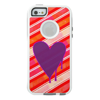Melting Heart Purple OtterBox iPhone 5/5s/SE Case