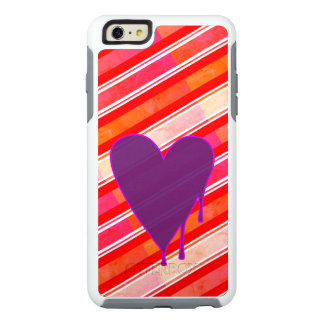 Melting Heart Purple OtterBox iPhone 6/6s Plus Case