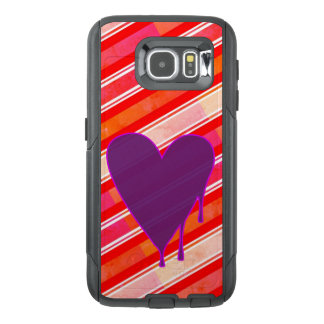 Melting Heart Purple OtterBox Samsung Galaxy S6 Case