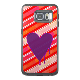 Melting Heart Purple OtterBox Samsung Galaxy S6 Edge Case