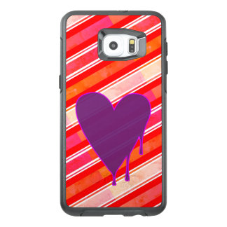 Melting Heart Purple OtterBox Samsung Galaxy S6 Edge Plus Case