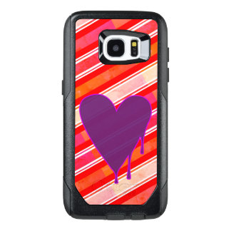 Melting Heart Purple OtterBox Samsung Galaxy S7 Edge Case