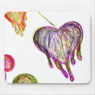 Melting Hearts Mouse Pad