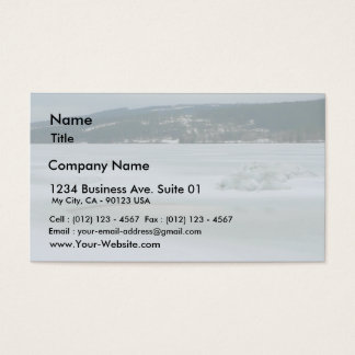 Melting Ice Business Card