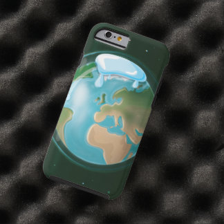 Melting Ice Caps on Planet Earth Tough iPhone 6 Case