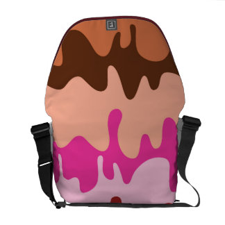 Melting Ice Cream - Bag Courier Bags
