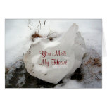 Melting Ice Greeting Card