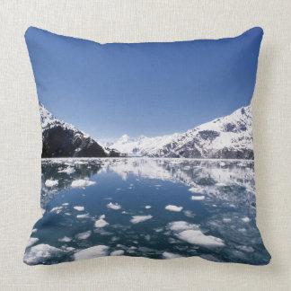 Melting Ice Throw Pillows