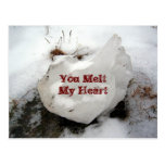 Melting Ice Postcard