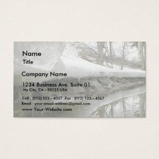 Melting Lake Side Business Card