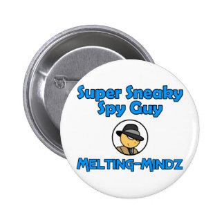 Melting-Mindz 2 Inch Round Button