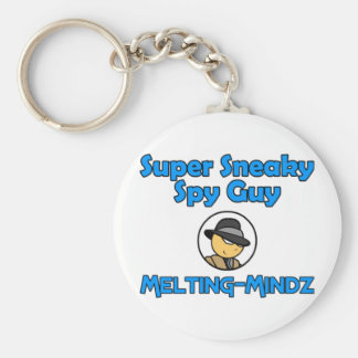Melting-Mindz Basic Round Button Keychain