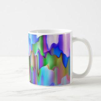 Melting Rainbow Colors Coffee Mug