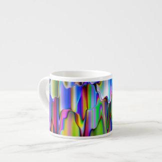 Melting Rainbow Colors Espresso Cup