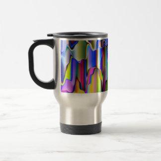 Melting Rainbow Colors Travel Mug