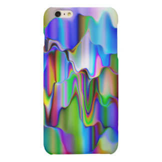Melting Rainbow Ice-Cream Matte iPhone 6 Plus Case