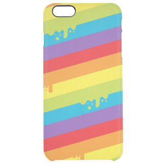 Melting Rainbow Uncommon Clearly™ Deflector iPhone 6 Plus Case