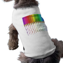 Melting Rainbow Pencils Shirt