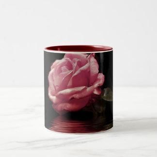melting rose mug