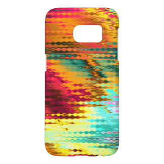 Melting Shimmering Glimmering Rainbow Abstract Samsung Galaxy S7 Case