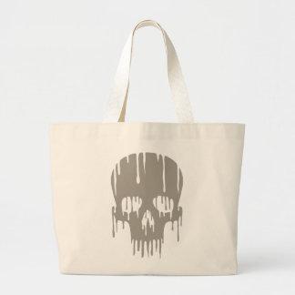 Melting Skull Canvas Bag