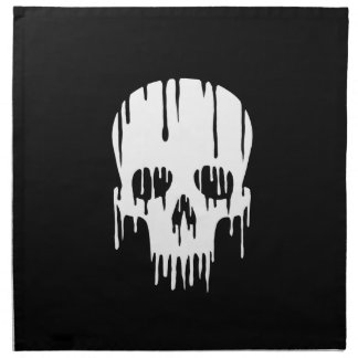Melting Skull Napkin