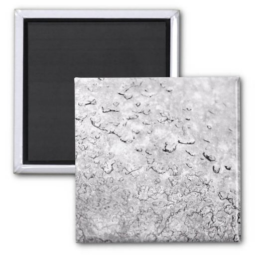 Melting Snow 2 Inch Square Magnet