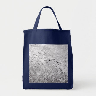Melting Snow Grocery Tote Bag