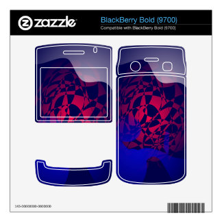 Melting Snow BlackBerry Decal