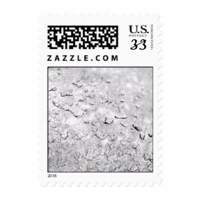 Melting Snow - Small stamp