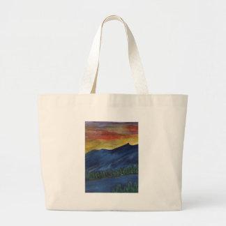 Melting Sunset Jumbo Tote Bag