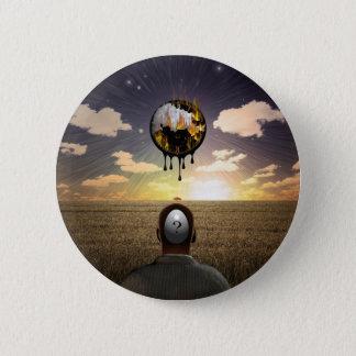 Melting time pinback button