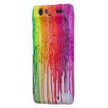 melting wax DROID RAZR phone case Droid RAZR Cover