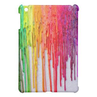 melting wax ipad case
