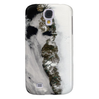 Meltwater ponds along Greenland West Coast Galaxy S4 Cases