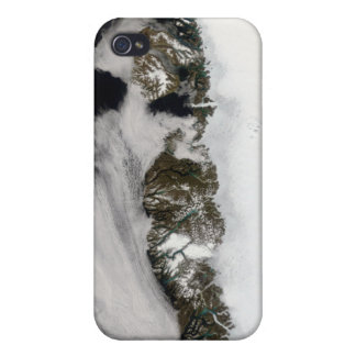Meltwater ponds along Greenland West Coast iPhone 4 Covers