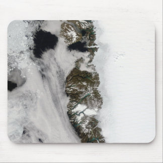 Meltwater ponds along Greenland West Coast Mouse Pad