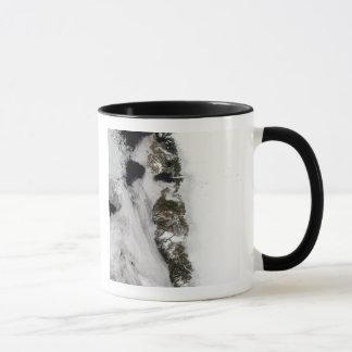 Meltwater ponds along Greenland West Coast Mug