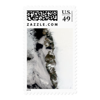 Meltwater ponds along Greenland West Coast Stamps