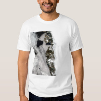 Meltwater ponds along Greenland West Coast T Shirts