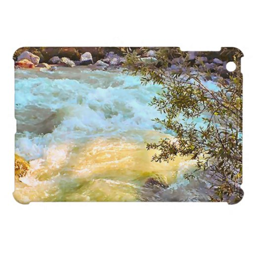 Meltwater river, Grindelwald iPad Mini Cover