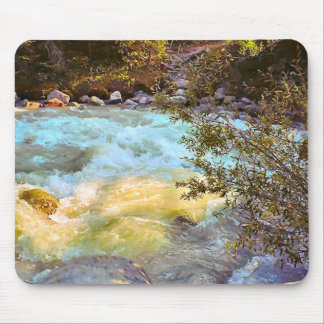 Meltwater river mouse pad