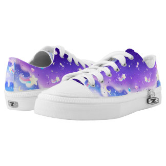 Melty milky way galaxy Low-Top sneakers