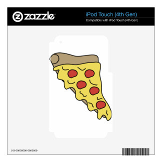 Melty Pizza iPod Touch 4G Decal